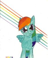 Request: MLP Rainbow Dash by Shallowmoonlight