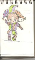 APH italy chibi in a costume by sealandmintbunny