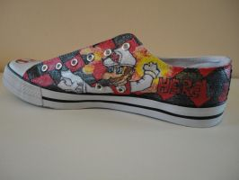 Super Mario Shoes 'Here We Go' by missMaxx