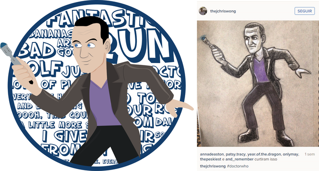 9th Doctor vector by pamtamarindo