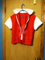 Pokemon Red Trainer Vest by snowtigra