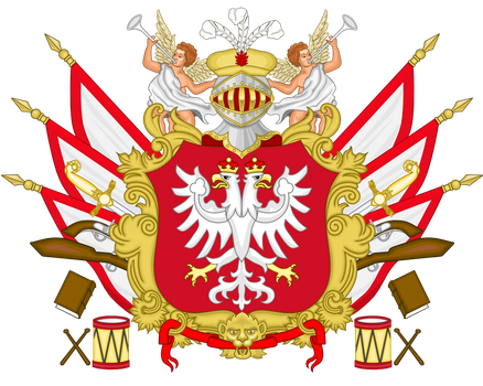 CoA Prince-Bishopric of Montenegro by TiltschMaster