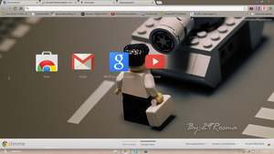 Tema Google Chrome By: 29Rosma by DesignYourWay