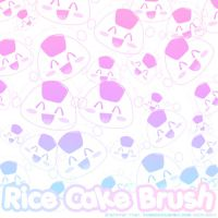 Rice Cake Brushes by xlilbabydragonx