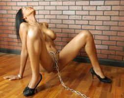 Chained to the wall III by almory