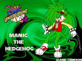 Manic for Sonic Underground by Vixen-T-Fox