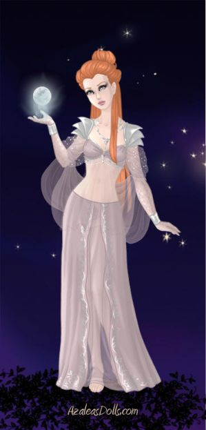 Selene the Goddess of the Moon