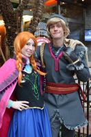 Anna and Kristoff by RougeLeaderRed