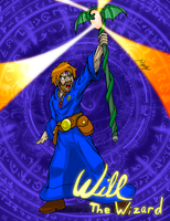 Commission: Will The Wizard by SuperSparkplug