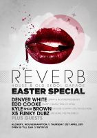 Reverb Easter Poster by danwilko