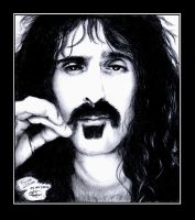 Frank Zappa by BrownEyed-Girl