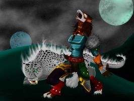 Kayetal and Sarge by moche257