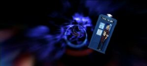 Me in the TARDIS by Supajames1