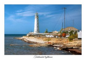 Tarhankut lighthouse postcard by Feasul-Oniisama