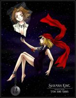 Shaman King :  Yoh and Anna by Six-One