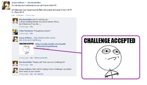 Durarara:Challenge accepted by pwinsesducky