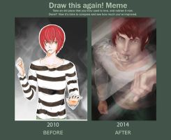 Draw This Again Meme (Matt - Death Note) by ThEsI-HellZ-No