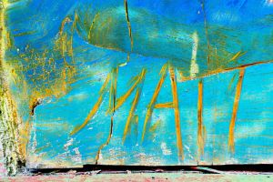 Matt Chain Saw Signature Sky Saw Painting by aegiandyad