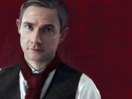 Martin Freeman by JessHavok