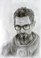 Gordon Freeman by ColourOfLife