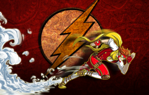 Steampunk Flash by Jonny5Alves