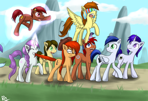 My Little OC: March to Ponyville by Reikomuffin