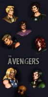 The Avengers by Sandeyes