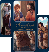 Amralime Fanbook Preview by KuroCyou