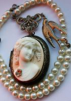 Headstone cameo necklace1 by Pinkabsinthe