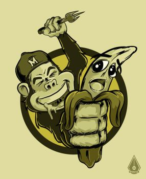 MONKEY BUSINESS by mixer23