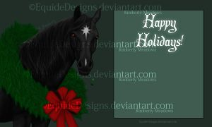 Christmas Card 2012 Final? by EquideDesigns