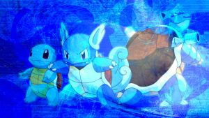 Blastoise Evolution by applejackles
