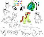 [MLP] Mission Belle by CheckerboardPrincess
