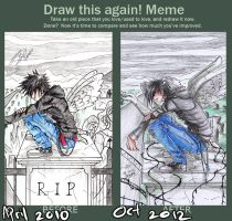draw this again meme_angel by 15DEATH