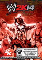 Custom WWE 2K14 cover (Legends Edition) by TheIronSkull