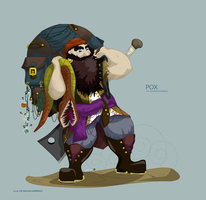 Pox the Pirate Chef by TheWilliamAnderson