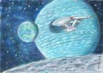 Enterprise at Super-Earth II by LEXLOTHOR