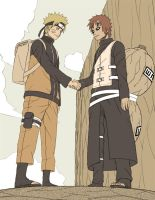 Hokage and Kazekage by osy057