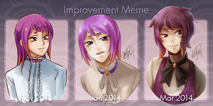 Improvement Meme I guess by iZince