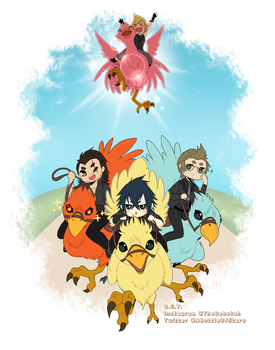 Chocobo Time! by CrystalSugarStars