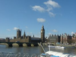 A view from the Thames by Mate397
