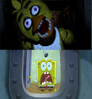 Five Nights at the Krusty Krab. by brandonale