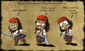 Quotes of Little Cap'n Jack by Ruth-Tay