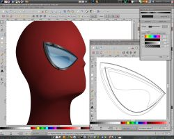 Vector Spidey progress - pt3 by dphase