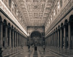 Rome in duotone. St Paul III by crelight