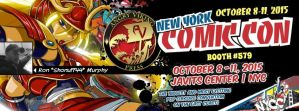 SEE YOU AT NEW YORK COMICON by ShoNuff44
