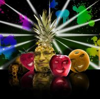 My family fruit by Mirraine