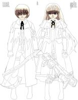 Hansel and Gretel coloer work in progress 1 by daylover1313