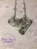 My Heart Goes Boom by WireMoonJewelry