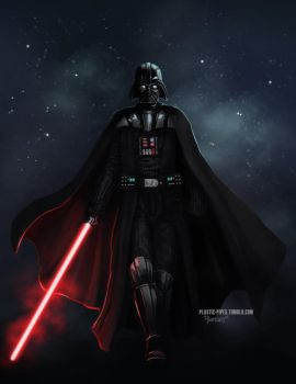 Darth Vader by plastic-pipes
